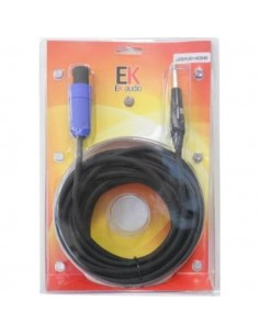 Ek Audio JJ025JS9 SPEAKON-JACK 9MT