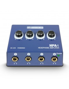 LD SYSTEMS HPA4 DISTRIBUIDOR AURICULARES