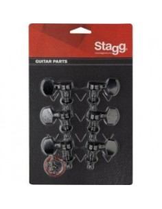 Stagg KG371BK CLAVIJERO 3+3 BLACK