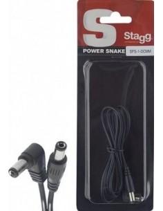 STAGG SPS-1 DCMM CABLE ALIMENTACION PEDAL 1MT