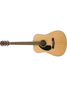 FENDER CD-60S DREAD LH NATURAL WN