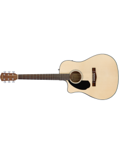 FENDER CD-60SCE DREAD LH NATURAL WN