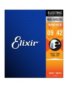 Elixir NANOWEB 12002 SUPER Light ELECTRIC
