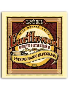 Ernie Ball  2063 EARTHWOOD BLUEGRASS 5 STRINGS 9-20/9
