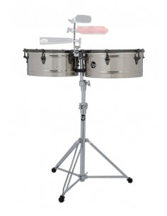 LP LP1415-EC TIMBALES E-CLASS STAINLESS STEEL