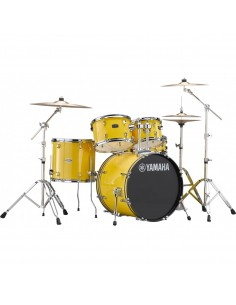 Yamaha Rydeen Standard Mellow Yellow + Set Platos Paiste