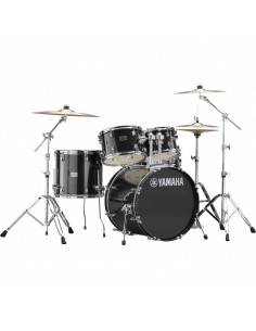 Yamaha Rydeen Studio Black Glitter + Set Platos Paiste