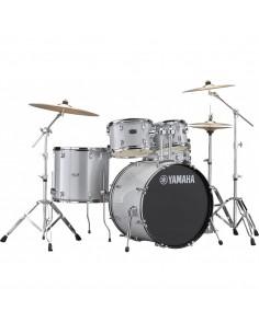 Yamaha Rydeen Studio Silver Glitter + Set Platos Paiste