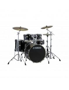 Yamaha Stage Custom Birch Standard Raven Black + HW780