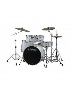 Yamaha Stage Custom Birch Standard Pure White + HW780