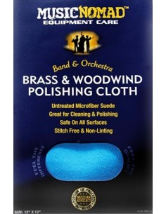 Music Nomad MN730 BRASS AND WOODWIND PREMIUM MICROFIBER POLISHING CLOTH